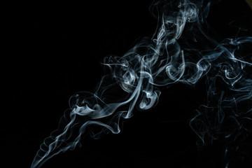 Aluminium Prints Smoke Abstract background, closeup of smoke