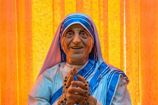 Wax Model of Mother Teresa