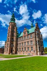 Rosenborg Slot castle in the Danish capital Copenhagen.