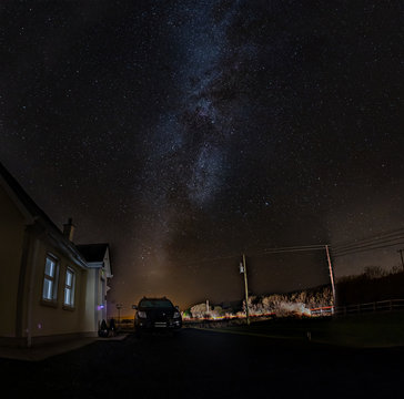 The Milky Way above County Donegal - Ireland