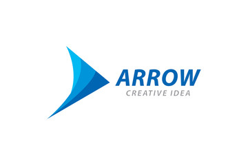 Creative Arrow Logo and Icon Template