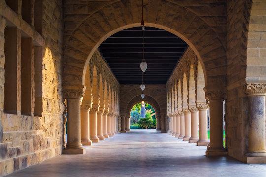 Stanford University Romanesque  Archway