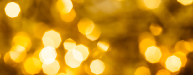 Glamorous gold shiny glow and glitter, luxury holiday background