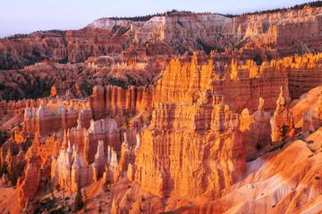 Keuken foto achterwand Bordeaux Winter Morning at Bryce Canyon Utah inside Bryce Canyon National Park.