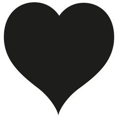 heart - Vector icon.