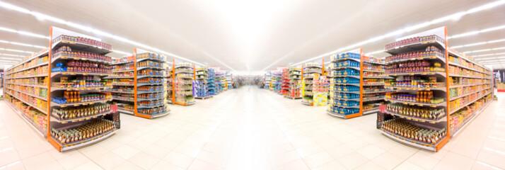 Fototapeta Supermarket obraz