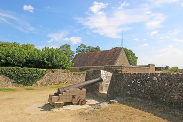 Cannon in Blaye Citadel, France Fototapete