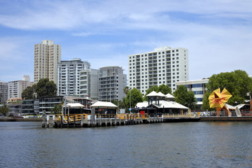 Mends Street Jetty in South Perth Western Australia