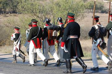 Russian historical uniform  of Crimean War time