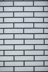 Modern white brick wall texture for background. Abstract, background and interior , exterior concept