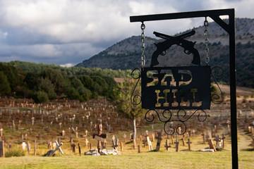 sad hill sign