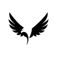 Eagle icon vector - illustration