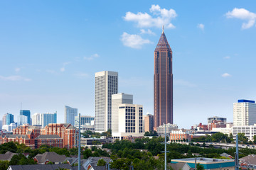 City skyline of Atlanta, Georgia, United States