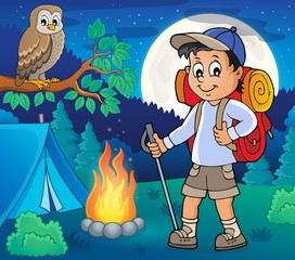 Acrylic Prints For Kids Image with hiker boy topic 4