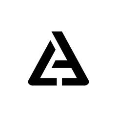 a letter logo. la letter logo