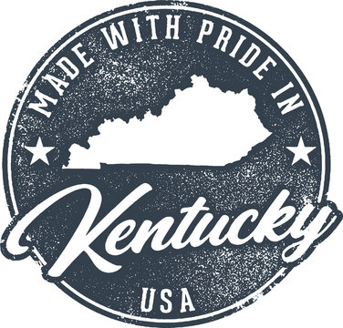 Made in Kentucky State Packaging Label