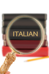 Looking in on education -  Italian