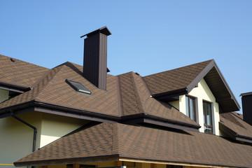 Obraz roof of newly builded house - fototapety do salonu