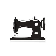 Manual sew machine icon. Simple illustration of manual sew machine icon for web design isolated on white background.