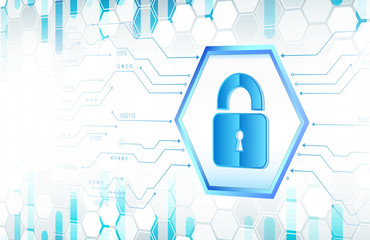 Cyber data security or information privacy idea. Cybersecurity and information or network protection. Isometric vector illustration.
