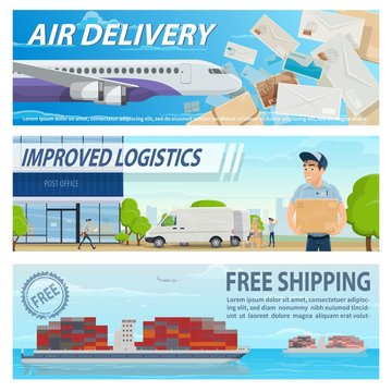 Post mail delivery and shipping service