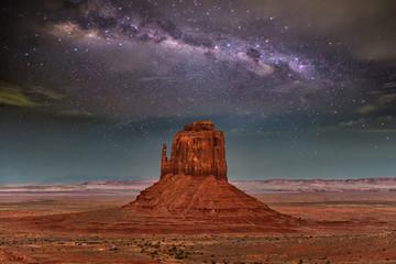 Foto auf AluDibond Arizona monument valley