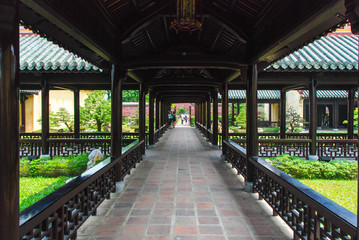 The Citadel of Imperial City of Hue, Vietnam  Wall mural