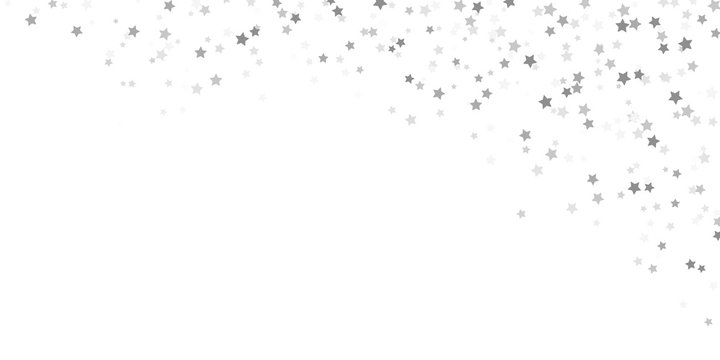 confetti stars background for christmas time