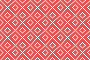 Geometric vector pattern. Simple background