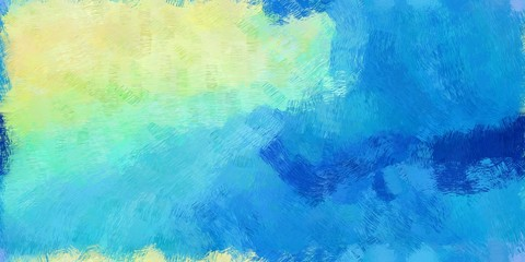 background pattern. grunge abstract background with dodger blue, tea green and aqua marine color. can be used as wallpaper, texture or fabric fashion printing