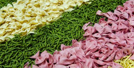 Teigwaren mit Gemüse