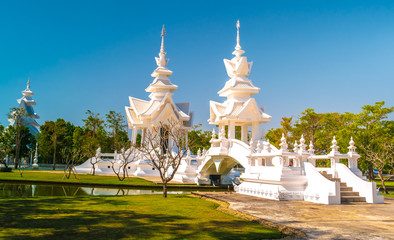 Wat Rongkun - the white temple in Chiangrai, Thailand
