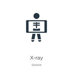 X-ray icon vector. Trendy flat x-ray icon from general collection isolated on white background. Vector illustration can be used for web and mobile graphic design, logo, eps10