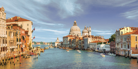 Photo sur Aluminium Venise view of the city of venice italy