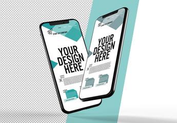 2 Smartphone Mockups