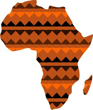 African continent 4