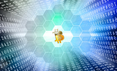 concept crypto bitcoin idea generation