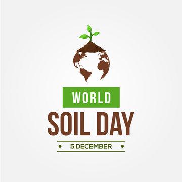 World Soil Day Vector Design Template