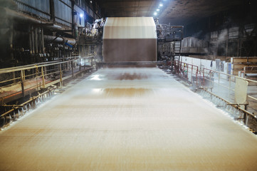 paper carton making factory machine huge cellulose