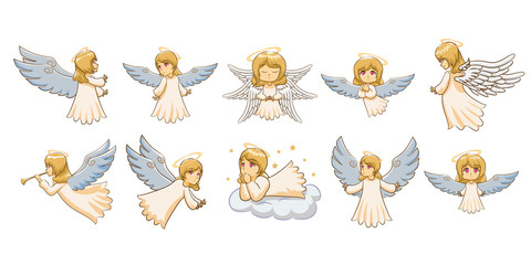 angel vector graphic clipart design