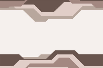 Seamless horizontal border pattern, isolated on light background.