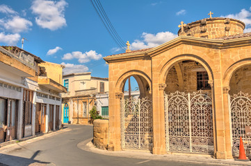 Historical center of South Nicosia, Cyprus