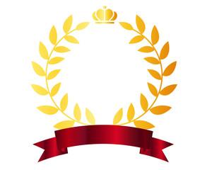 王冠 月桂樹 ランキング 星 リボン