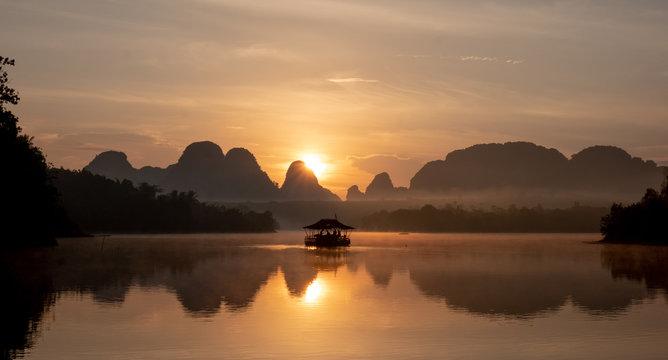 Lake in Krabi, Thailand