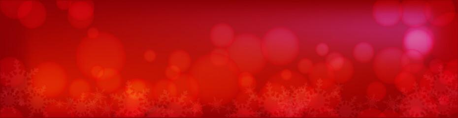 冬の幻想的な雪の結晶背景素材 ビルボード