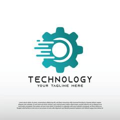 Lamas personalizadas infantiles con tu foto Technology logos, future technology icons, gear logos, circuit style lines, vector illustration elements