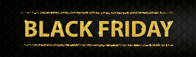 Golden Particles Black Friday Ornaments