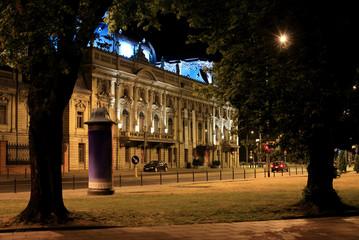 Fototapeta Łódź Pałac Poznańskiego obraz