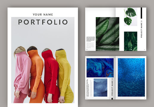Minimalist Portfolio Layout