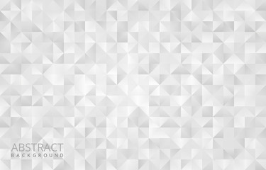 White geometrical abstract background design